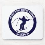 Campeón en declive 1984 del chino internacional alfombrilla de raton