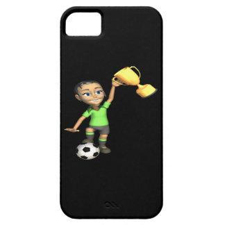 Campeón femenino del fútbol funda para iPhone SE/5/5s