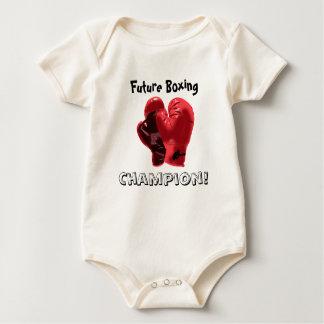 ¡Campeón futuro del boxeo! Body Para Bebé
