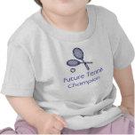 Campeón futuro del tenis camiseta