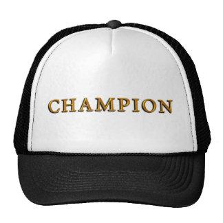 Campeón Gorras