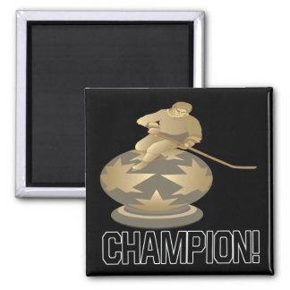Campeón Imán Cuadrado