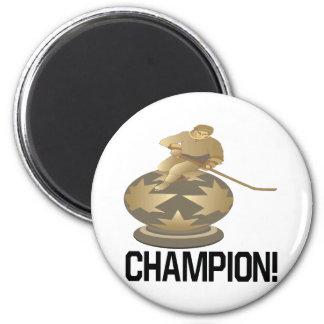 Campeón Imán Redondo 5 Cm