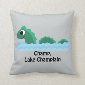 Campeón, lago Champlain Cojín