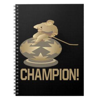 Campeón Libro De Apuntes