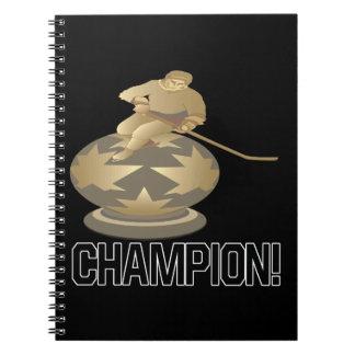 Campeón Libro De Apuntes Con Espiral