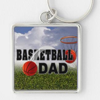Campeón - llavero del papá del baloncesto