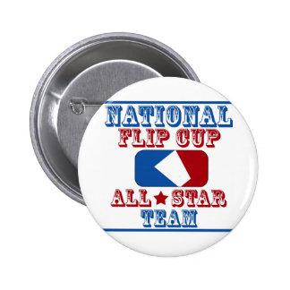 campeón nacional de la taza del tirón pin redondo de 2 pulgadas