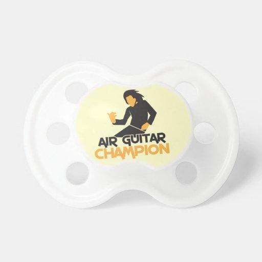 Campeón NP de Air Guitar Chupete De Bebe