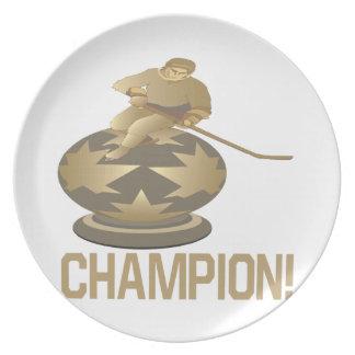 Campeón Platos