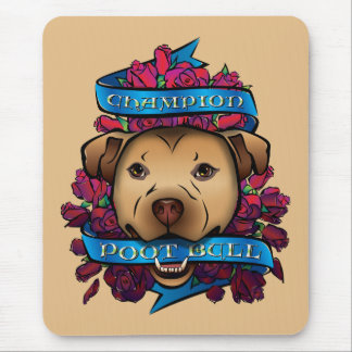 Campeón Poot Bull Mouse Pads