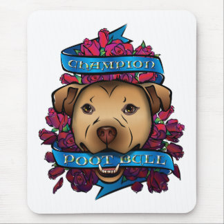 Campeón Poot Bull Mouse Pad