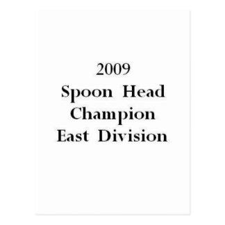 Campeón principal de la cuchara postal