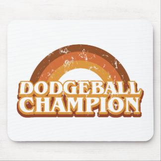 Campeón retro Mousepad de Dodgeball Alfombrilla De Ratón