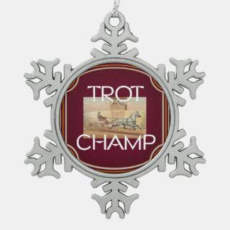 Campeón SUPERIOR del trote Adornos