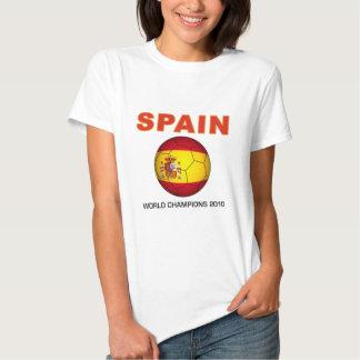 Campeón Suráfrica del mundial 2010 de España Poleras