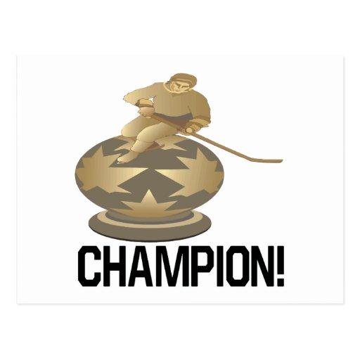Campeón Tarjeta Postal