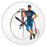 Campeonato de la bicicleta del vintage reloj