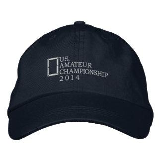 Campeonato del aficionado de los 2014 E.E.U.U. Gorras Bordadas