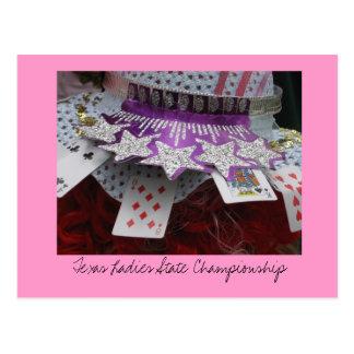 Campeonato del estado de las señoras tarjetas postales