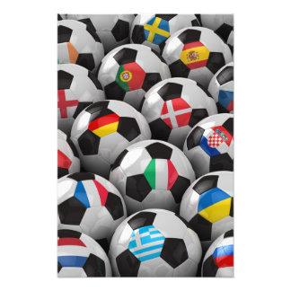 Campeonato del fútbol de 2012 europeos fotografia