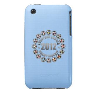 Campeonato del fútbol de 2012 europeos Case-Mate iPhone 3 protector