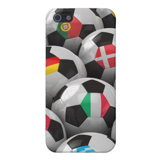 Campeonato del fútbol de 2012 europeos iPhone 5 cárcasas