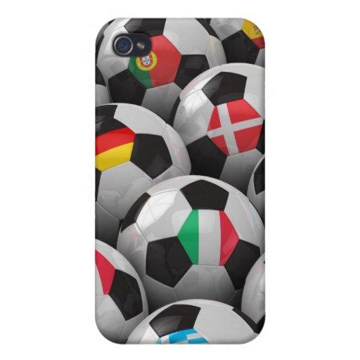 Campeonato del fútbol de 2012 europeos iPhone 4 cobertura