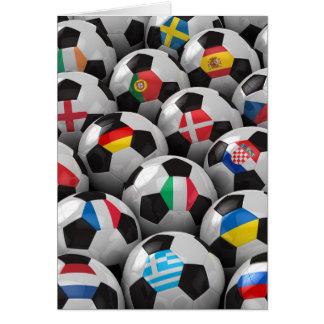 Campeonato del fútbol de 2012 europeos tarjetas