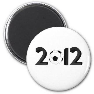 Campeonato europeo 2012 imán redondo 5 cm