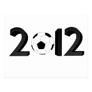 Campeonato europeo 2012 tarjetas postales