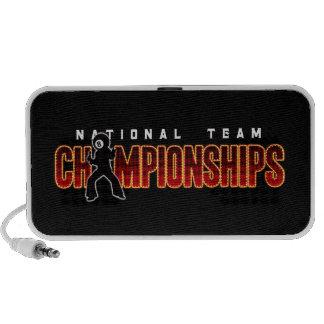Campeonatos 2 del equipo nacional portátil altavoz