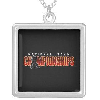 Campeonatos 2 del equipo nacional colgante cuadrado