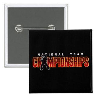 Campeonatos 2 del equipo nacional pin cuadrado