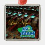 Campeonatos del equipo nacional de APA Adorno Navideño Cuadrado De Metal