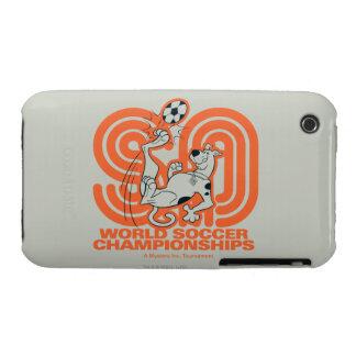 Campeonatos del fútbol del mundo iPhone 3 Case-Mate cárcasas