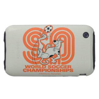 Campeonatos del fútbol del mundo tough iPhone 3 carcasas