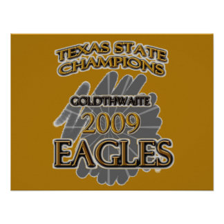 ¡Campeones 2009 de estado de Goldthwaite Eagles Te Anuncio