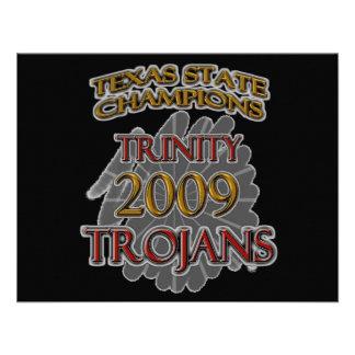 Campeones 2009 de estado de Tejas de los Trojan de Comunicado Personal