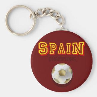 Campeones 2010 del mundo de España Llavero Redondo Tipo Pin