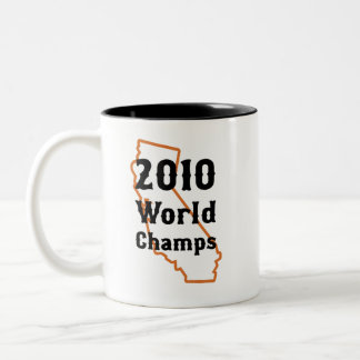 Campeones 2010 del mundo taza