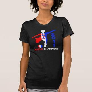 Campeones 2011 del mundo del fútbol de las mujeres camisas