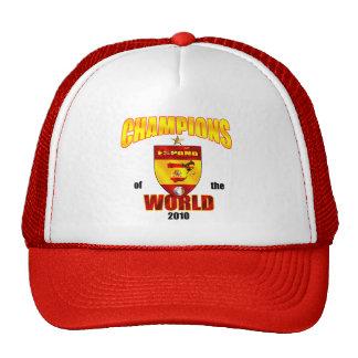Campeones de España del mundo 2010 Gorro De Camionero