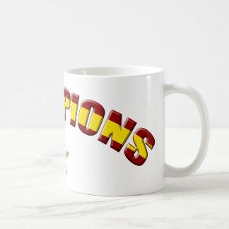 Campeones de España Tazas De Café