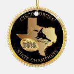 Campeones de estado de Cisco Loboes bling Adornos