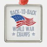 Campeones de la guerra mundial adorno