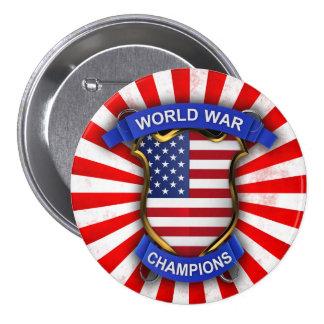 Campeones de la guerra mundial de los E.E.U.U. Pin