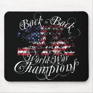 Campeones de la guerra mundial mousepads