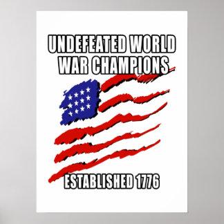Campeones de la guerra mundial poster