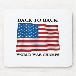 Campeones de la guerra mundial tapetes de ratones
